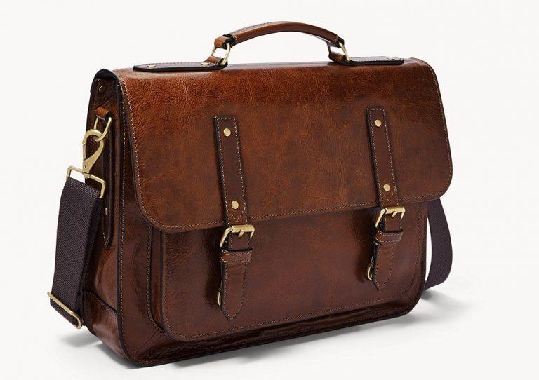 Fossil Greenville Top Handle Messenger Bag
