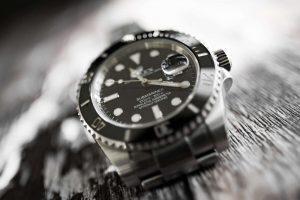 Rolex Submariner close-up