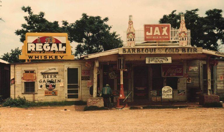 Frenchie's Bar in Melrose Louisiana circa 1930