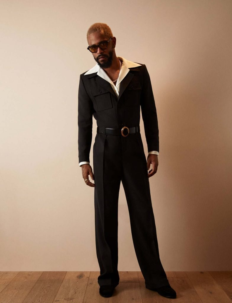 LaKeith Stanfield YSL Academy Awards outfit Pic 2