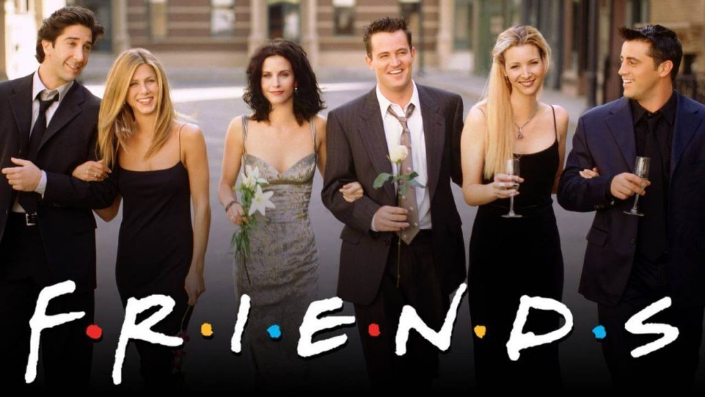 Friends 90s promotional image