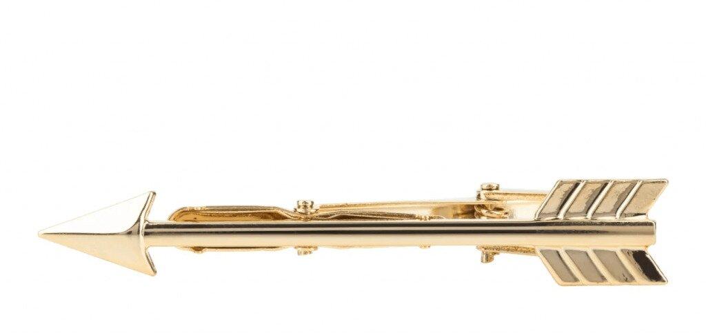 Latelita Arrow Tie Clip in gold