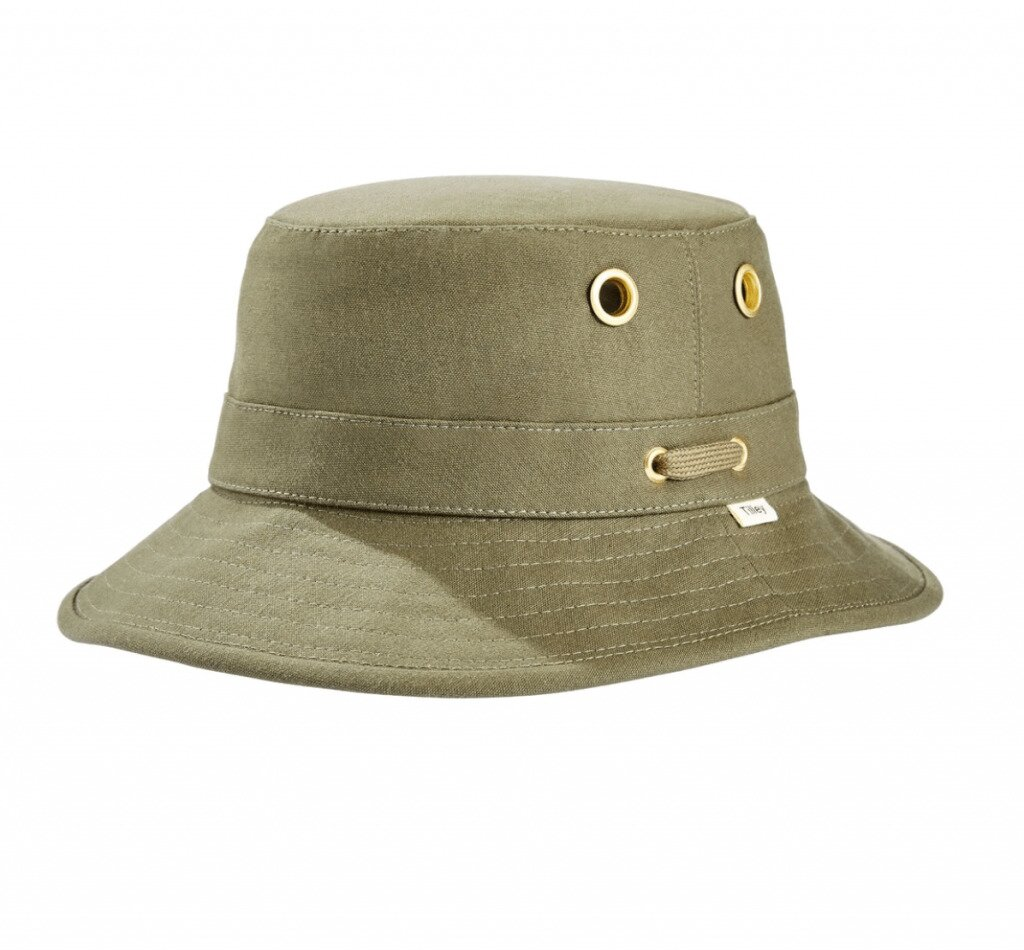 Tilley Bucket Hat in olive