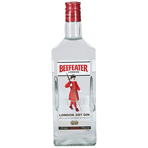 Bottle of Beefeater gin