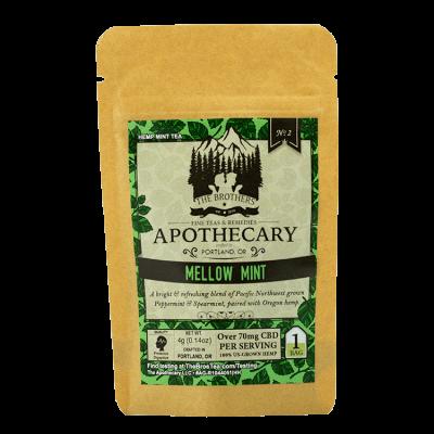 The Brothers Apothecary Mellow Mint CBD tea