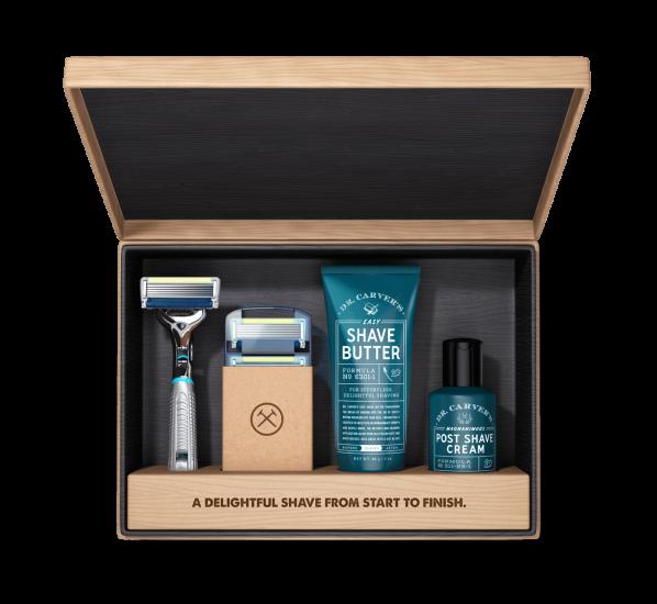 Dollar Shave Club box display