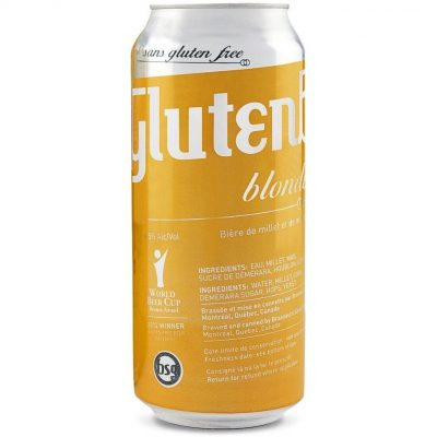 Can of Glutenberg Gluten Free beer