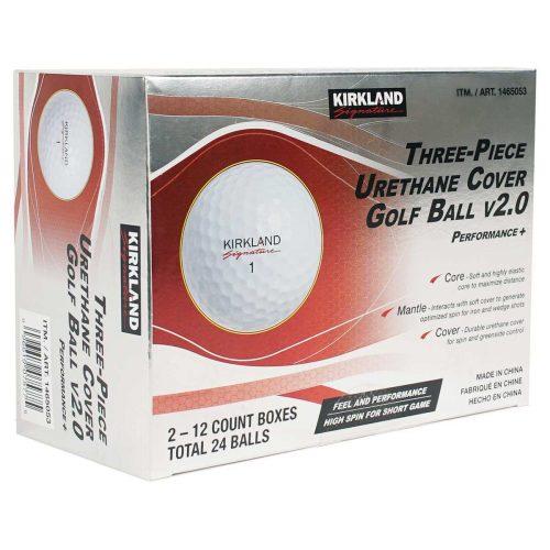 Kirkland golf balls v2.0