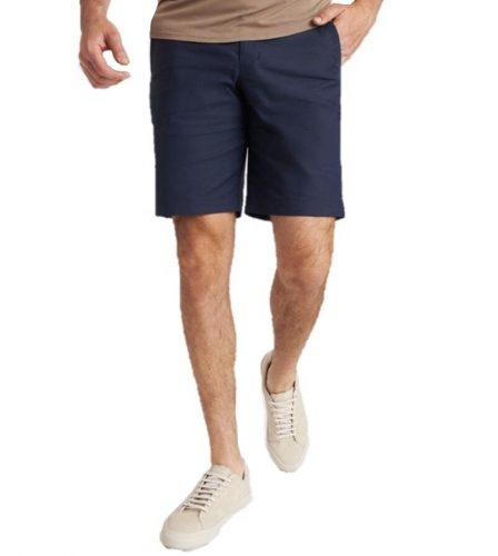Man wearing Kit and Ace shorts