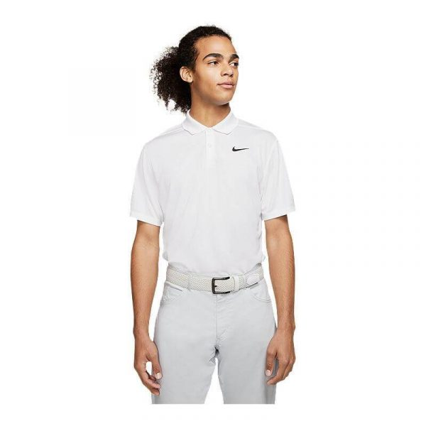 Nike Golf Dri-FIt Victory Polo in white