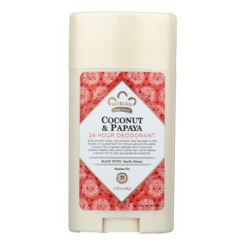 Nubian Heritage Coconut & Papaya Deodorant