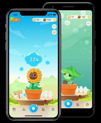 Plant Nanny Water/ Hydration App