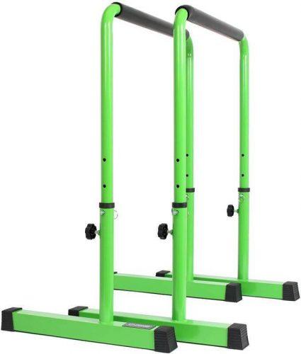 Power Guidance Dip Bar in green
