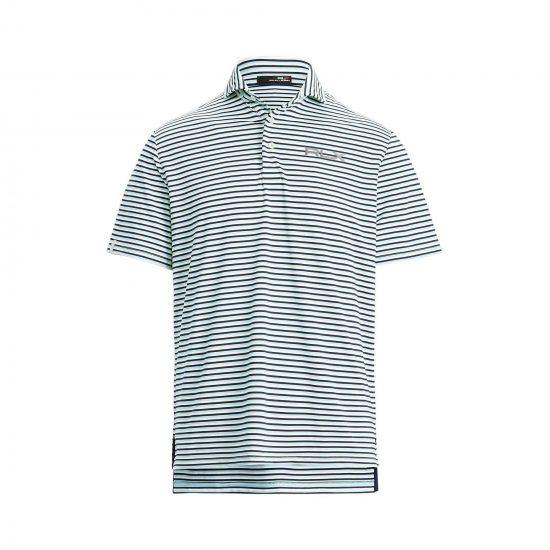 RLX Airflow Multi Stripe short sleeve polo golf shirt