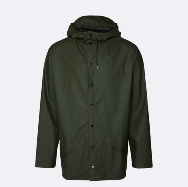 Rains jacket in green