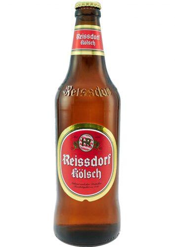 Bottle of Reissdorf Kölsch beer