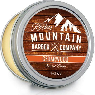 Rocky Mountain Barber Company Cedarwood beard balm