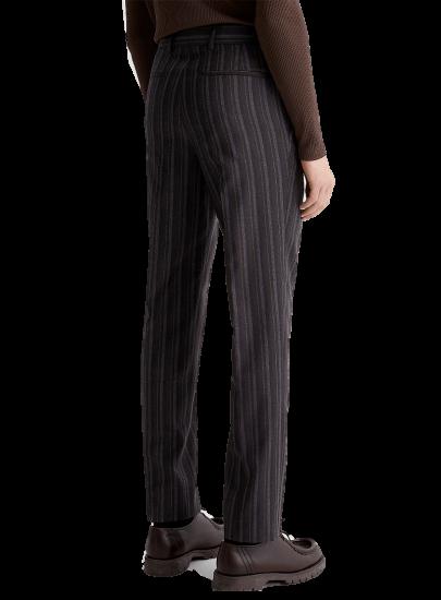 Simons Woven-stripe Reykjavik dress pants