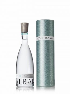 Bottle of Svalbardi water with gift tube