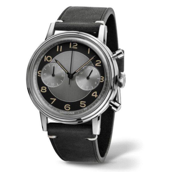 Undone Vintage Tuxedo Herringbone Watch