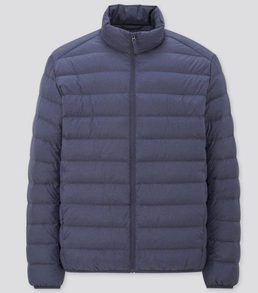 Uniqlo Ultra Light Down Jacket in blue