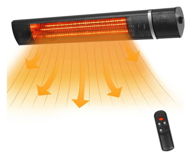 VQVG Infared Heater With Remote