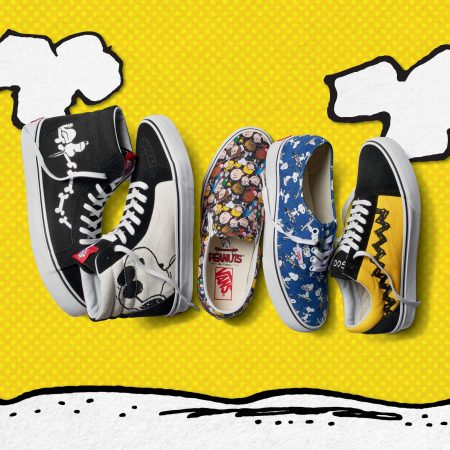 Vans x Peanuts collab shoe
