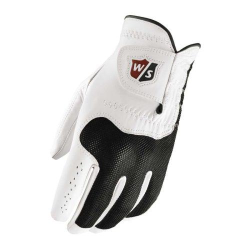 Wilson Staff Conform Glove in white and black