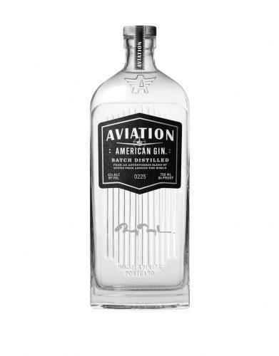 Bottle of Aviation gin