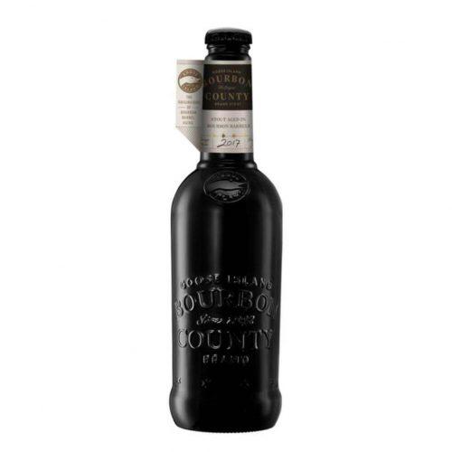 Bottle of Goose Island Bourbon County Brand Stout