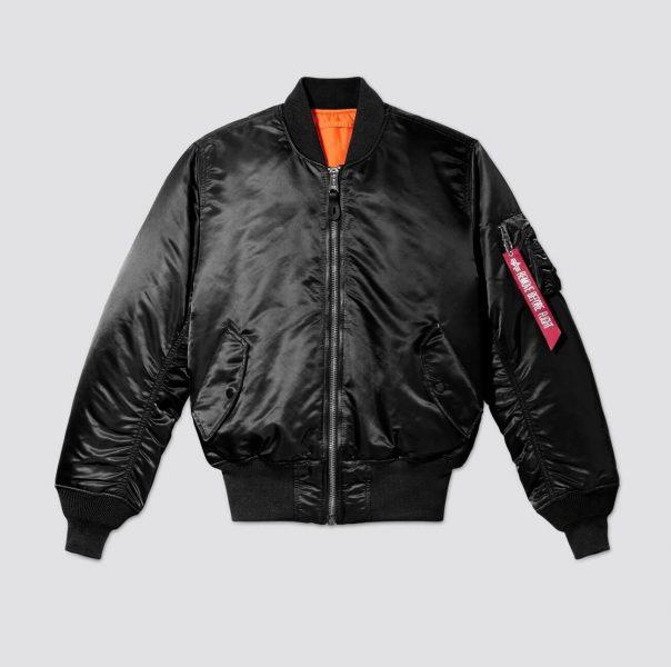 Alpha Industries Flight Jacket in black