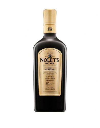 Bottle of Nolet's Reserve gin