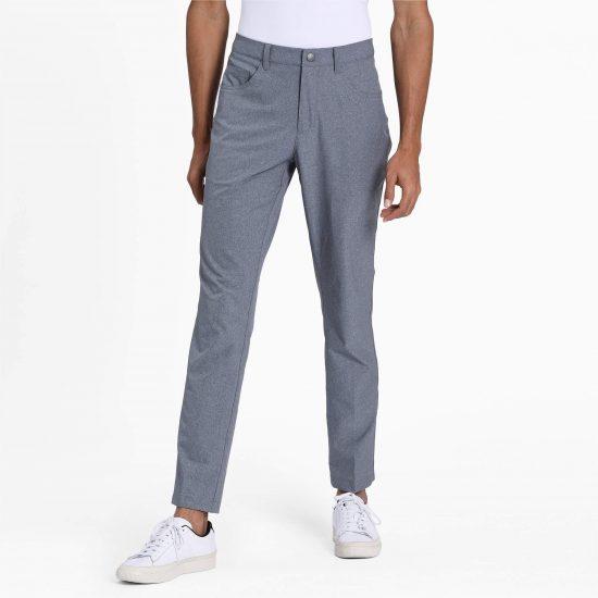 Puma Jackpot 5 Pocket Golf Pants in grey